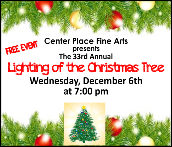 Lighting of the Christmas Tree at Center Place @ Center Place Fine Arts and Civic Association | Brandon | Florida | United States