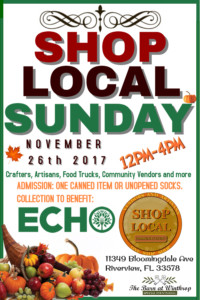 Shop Local Sunday @ The Barn @Winthrop | Riverview | Florida | United States