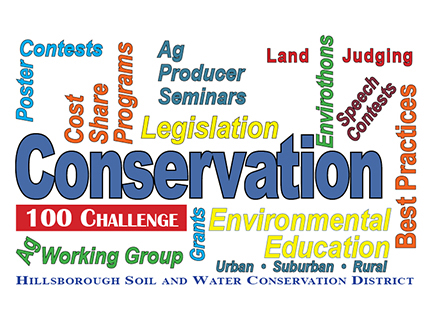 Hillsborough 100 Conservation Challenge 2018 @ Hillsborough Soil and Water Conservation District | Plant City | Florida | United States